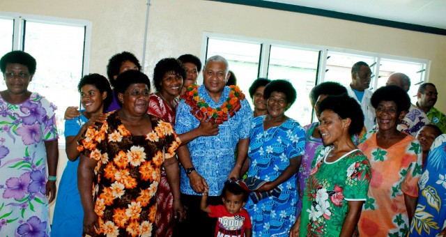 Fijian Prime Minister visits Nasivikoso Village School