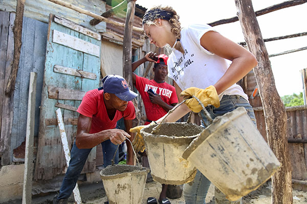 Rustic Pathways and RP Foundation Build Eight Homes in Monte Coca Batey